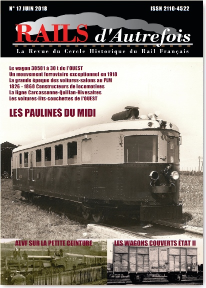 Couverture RdA n°17